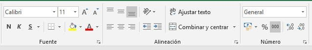 Formatos cambiar Excel