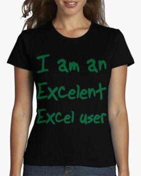 Camisetas Excel