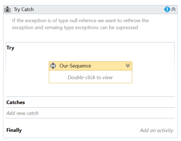 How To Use Rethrow In UiPath - ExcelCult