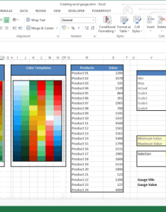 Gauge chart tutorial table also how to create in excel training and free add rh exceldashboardschool