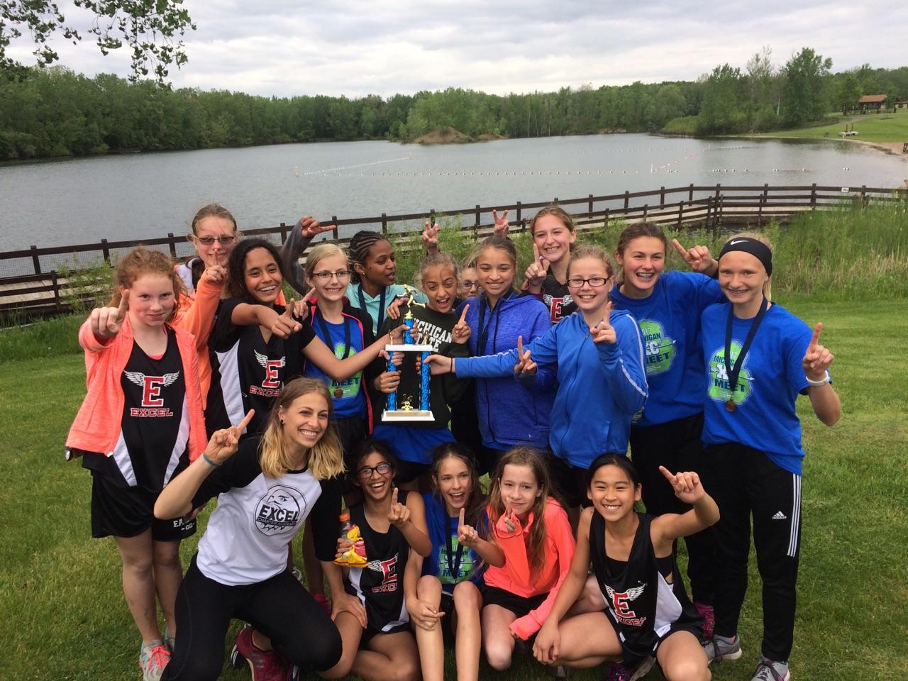Girls xc wins st state championship in school history also exceleaglessports home of excel eagles athletics rh wordpress