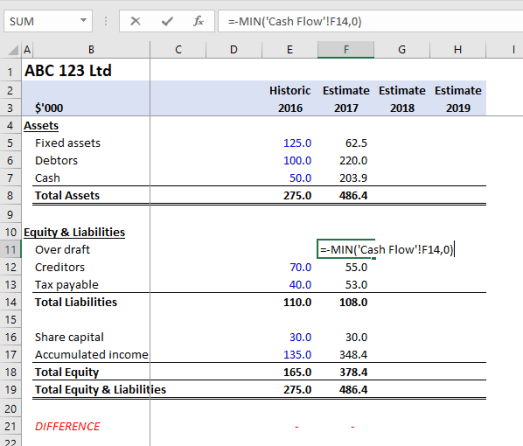 Intro to Financial Modeling Part 3 - The Calculations - Excel
