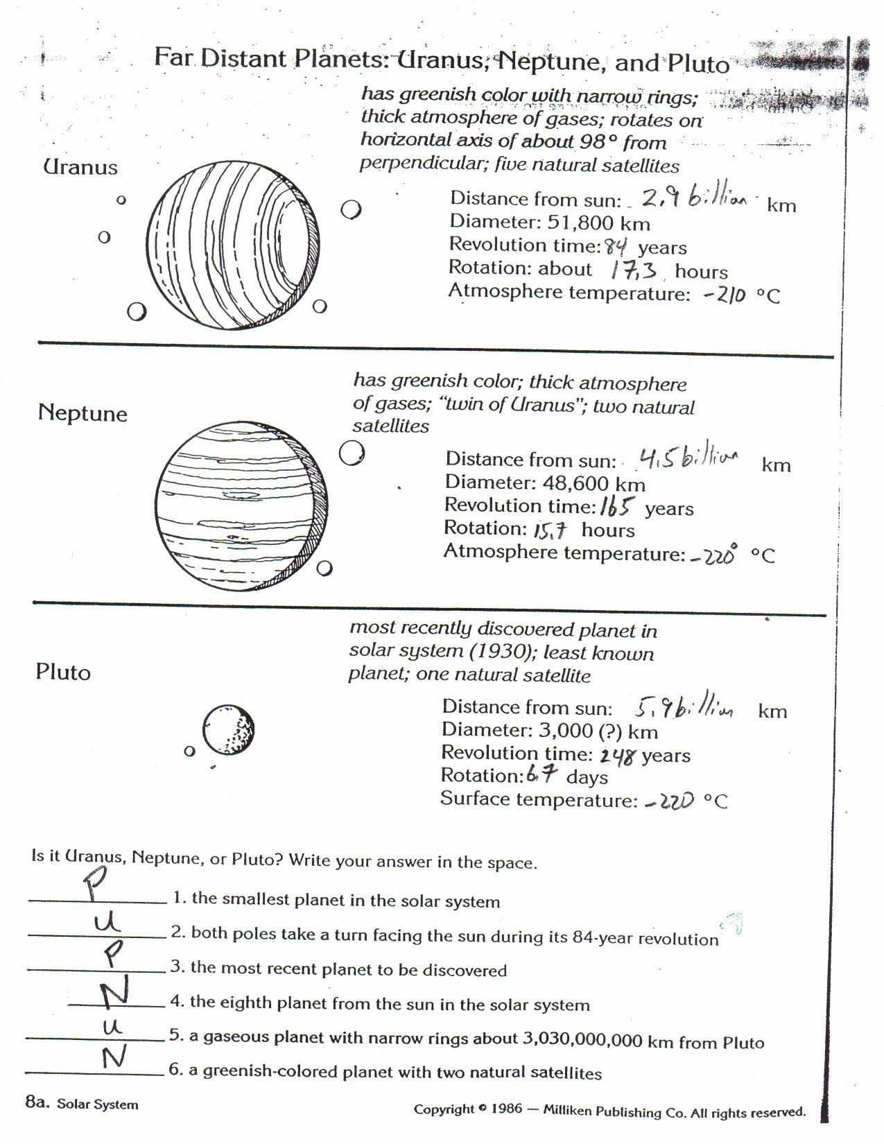 Bill Nye Atmosphere Worksheet Answers