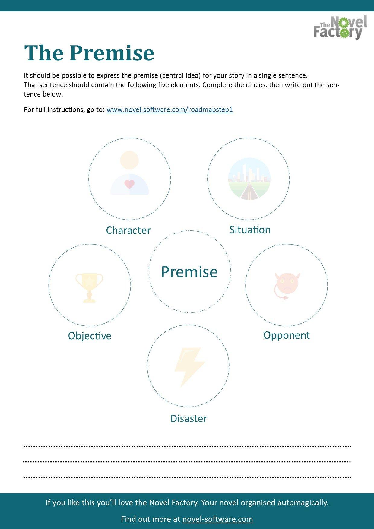 Story Elements Worksheet