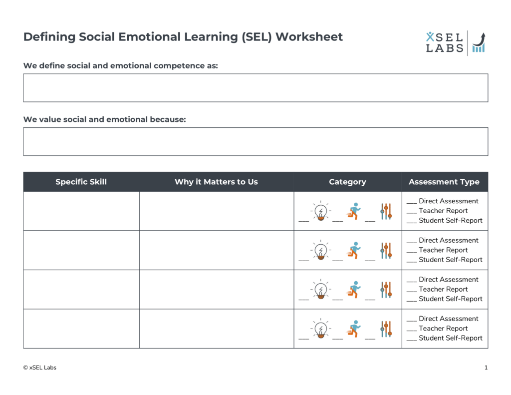 Defining Social Emotional Learning Sel Skills Xsel Labs