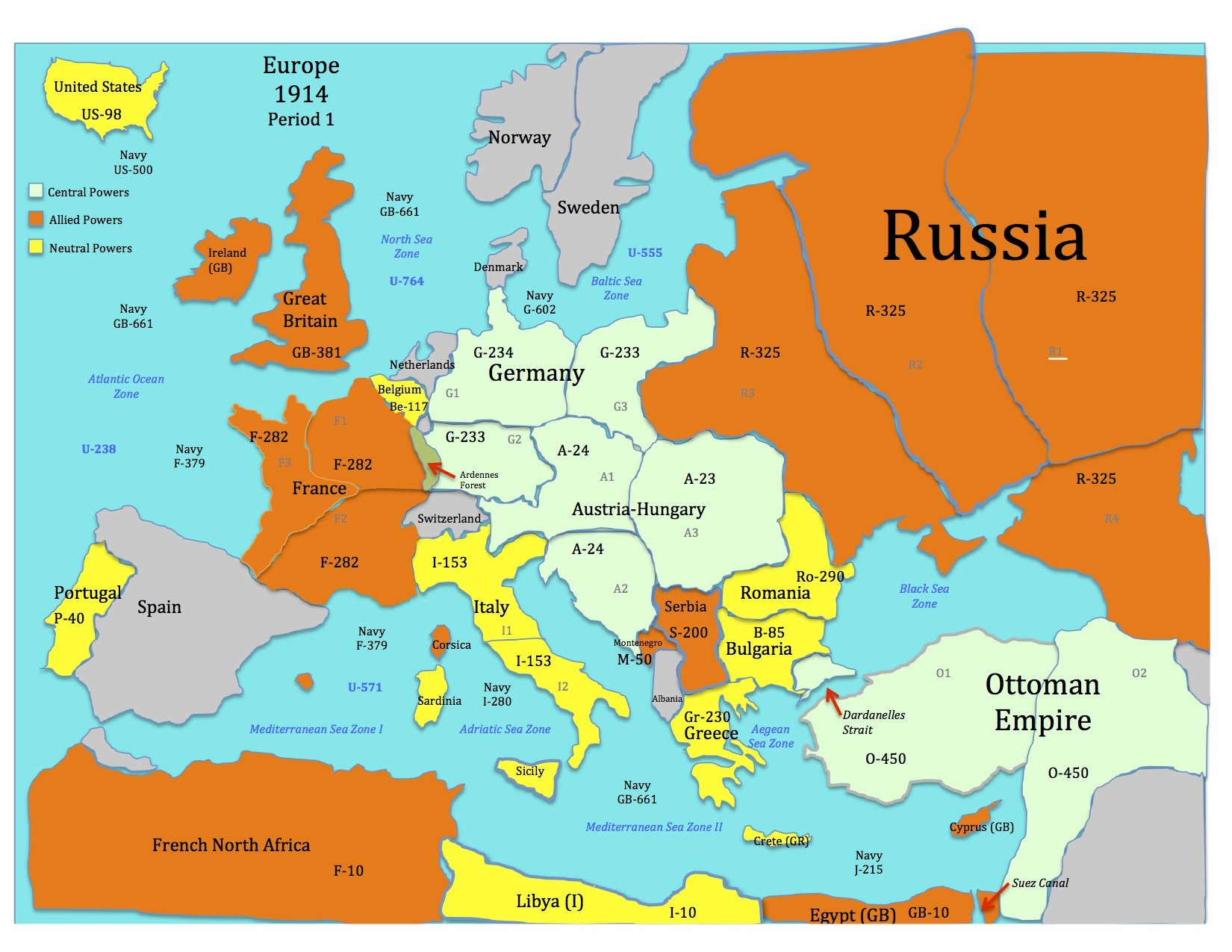 Europe After World War 1 Map Worksheet Answers