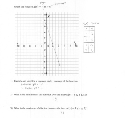 small resolution of Graphing Exponential Functions Worksheet Key   Printable Worksheets and  Activities for Teachers