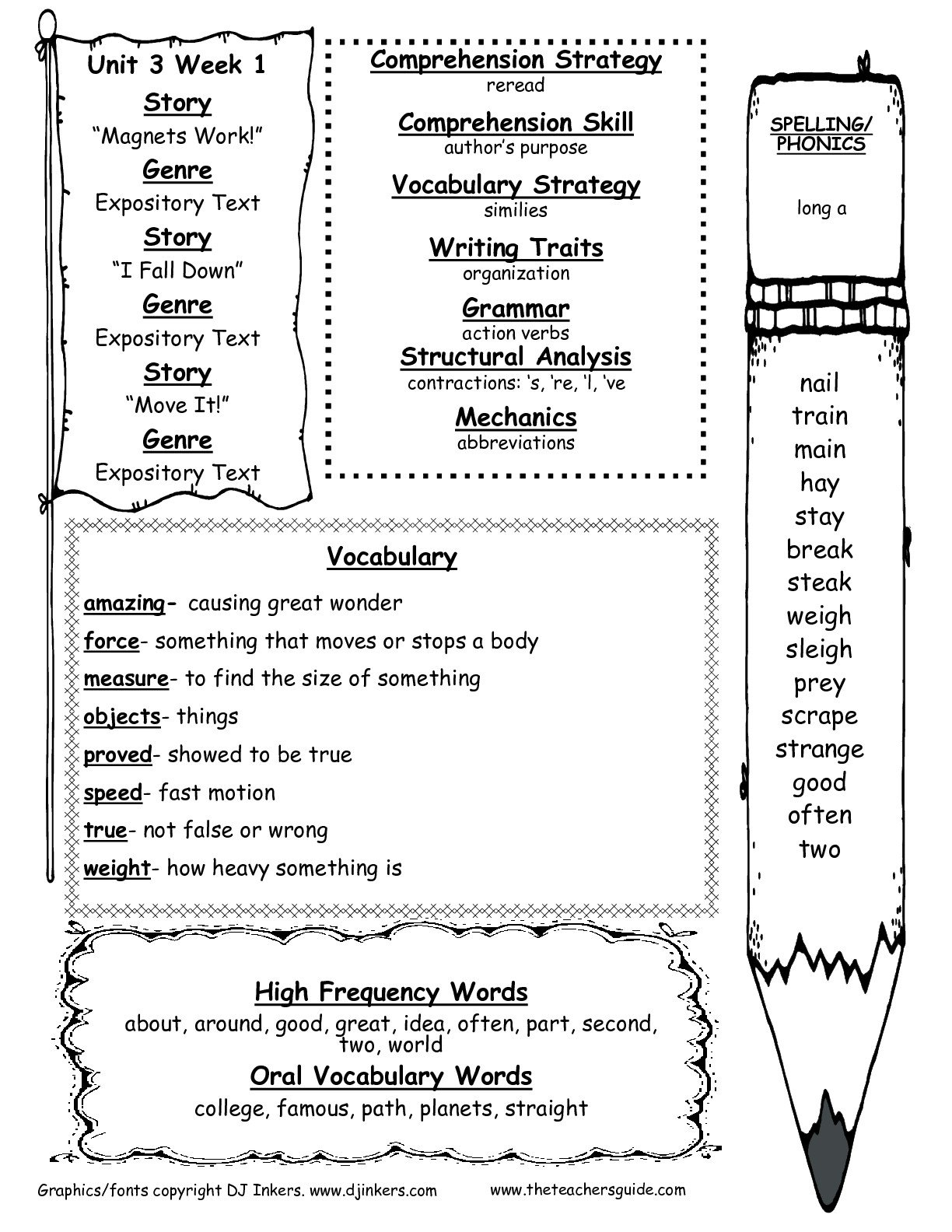 Force And Motion Worksheets 2nd Grade
