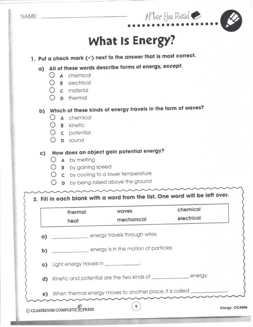 small resolution of Properties Of Minerals Worksheets   Printable Worksheets and Activities for  Teachers