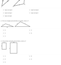 Congruent And Similar Worksheets   Printable Worksheets and Activities for  Teachers [ 1974 x 1140 Pixel ]