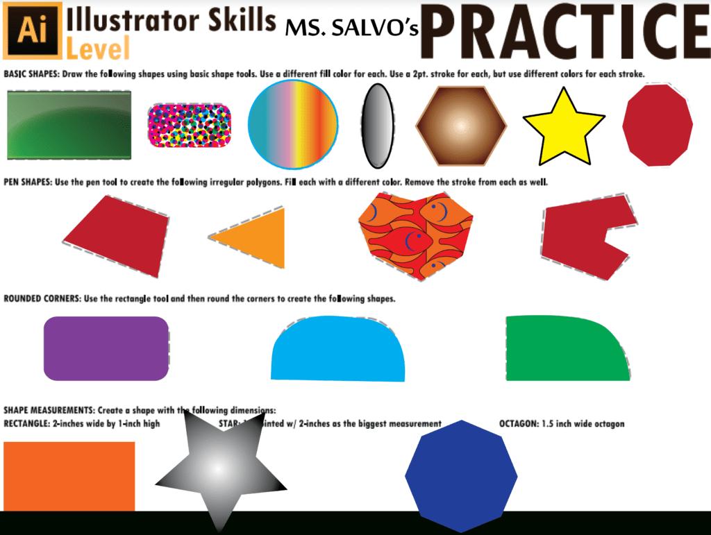 Tij1o Ms Salvo S Site Or Adobe Illustrator Worksheets