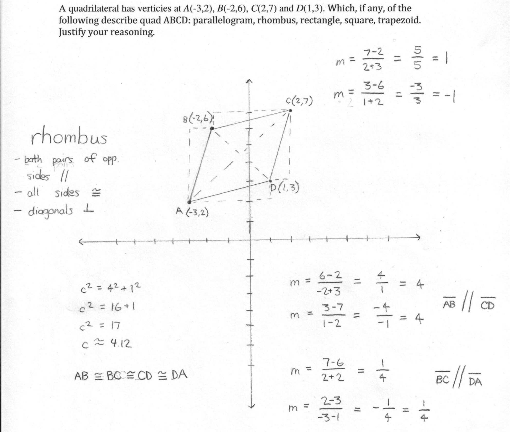 hight resolution of Worksheet On Quadrilaterals   Printable Worksheets and Activities for  Teachers