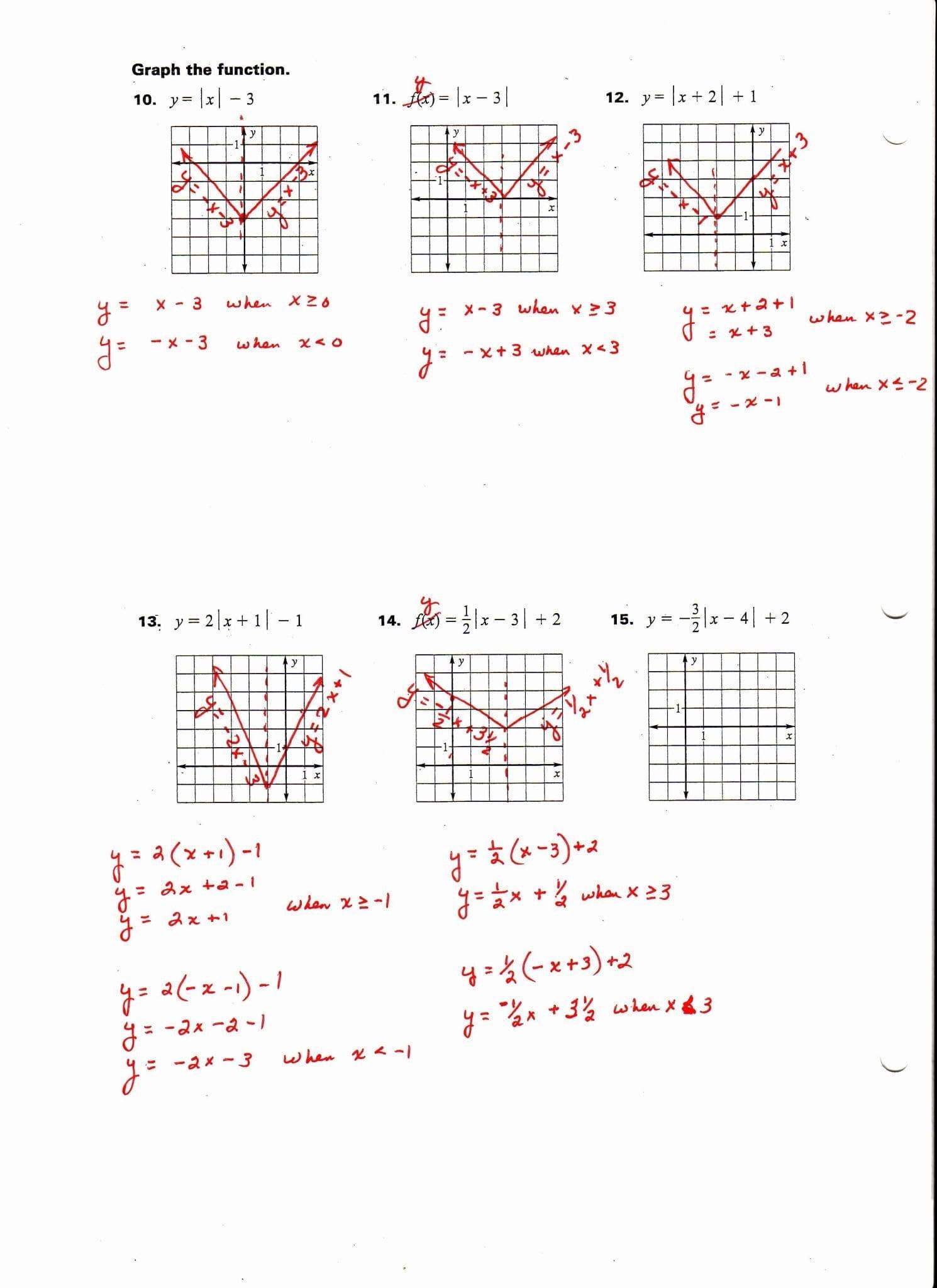 Graphing Polynomials Worksheet Algebra 2