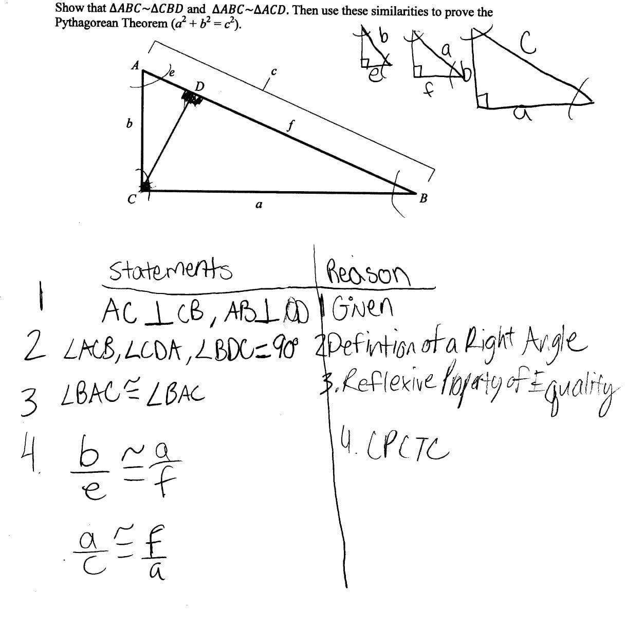 Pythagorean Theorem Review Worksheet