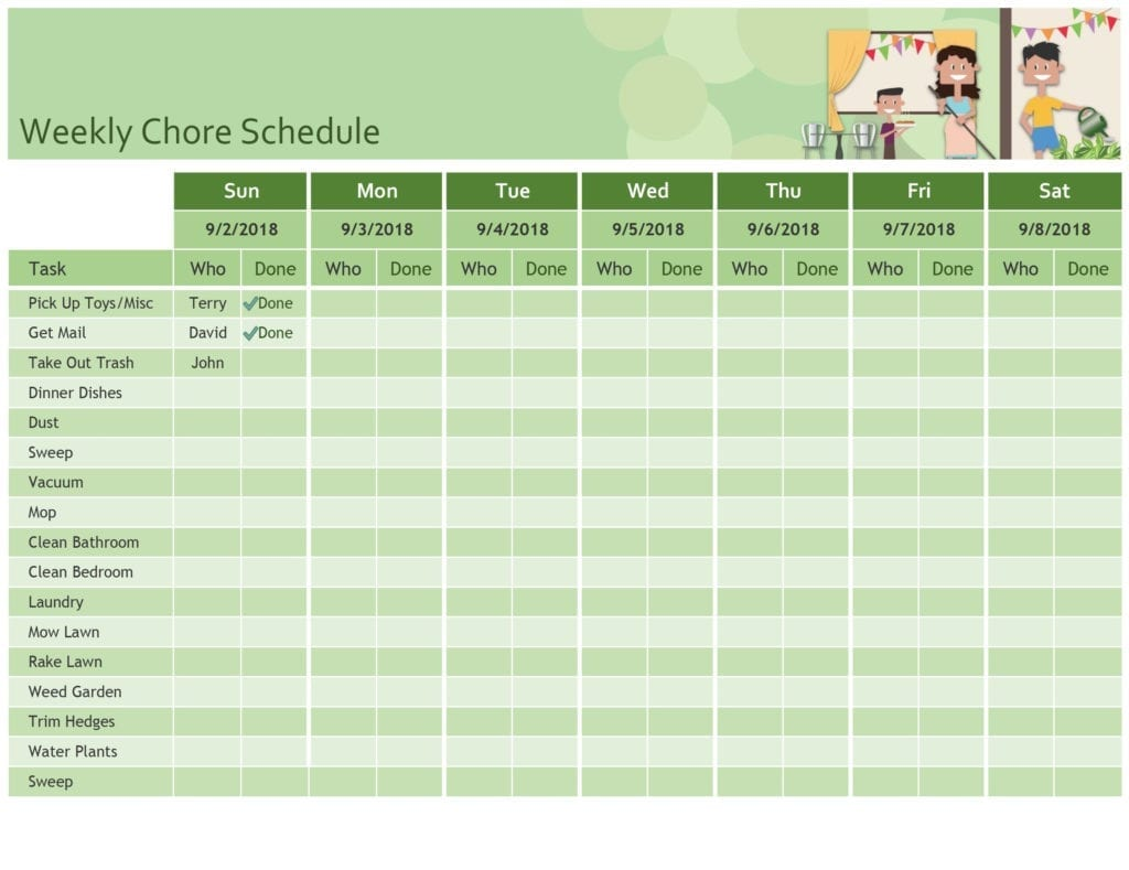 Schedules Office Inside Schedule Worksheet Templates