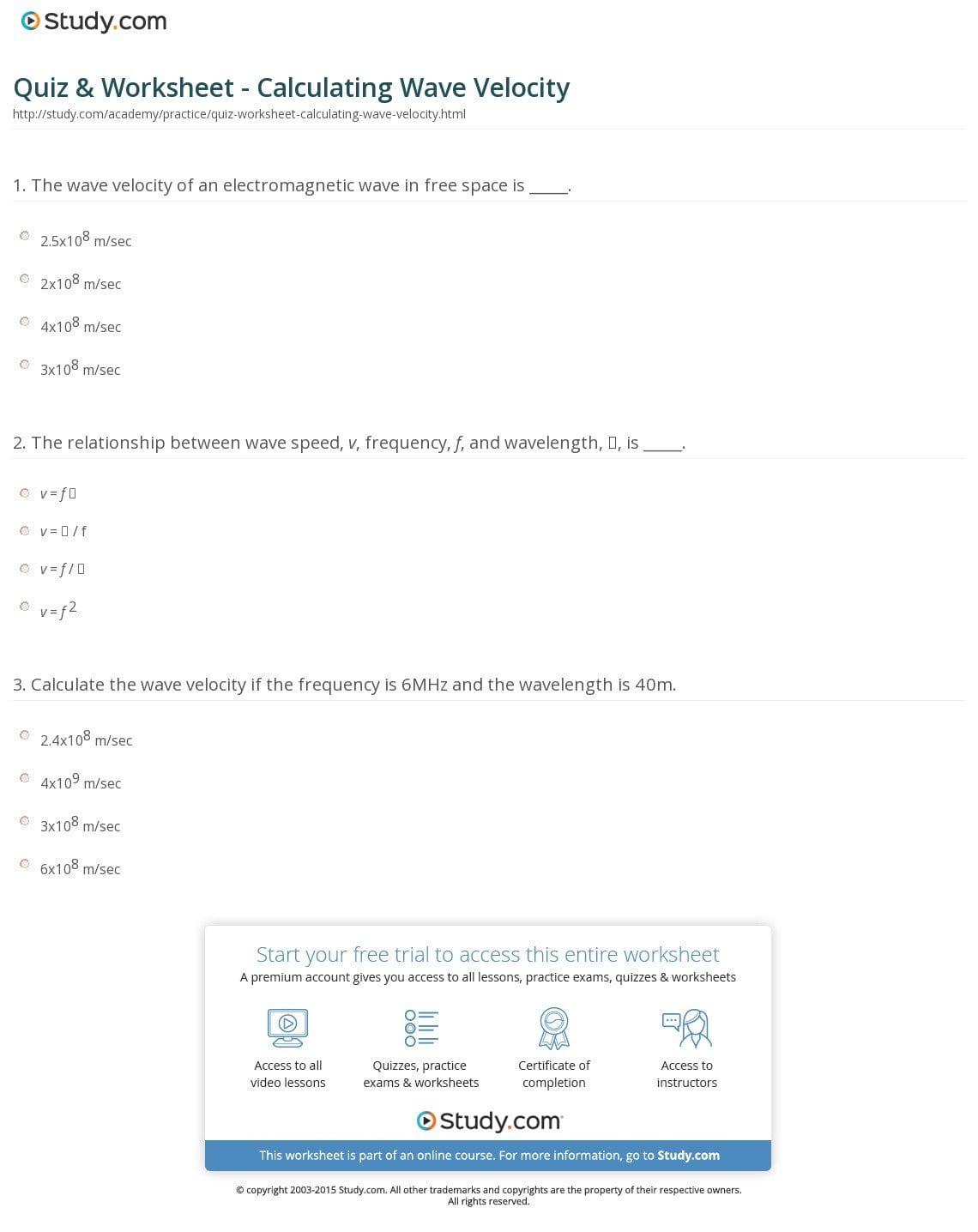 Planck Equation Chem Worksheet 5 2 Answers