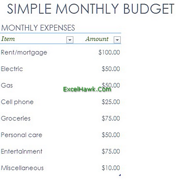 Excel Budget Template for Household and Company Planner Tutorial ...