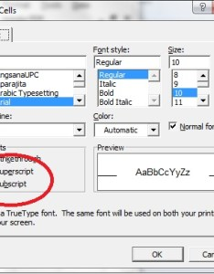 Step also adding subscripts and superscripts to  cell excel hints rh excelhints