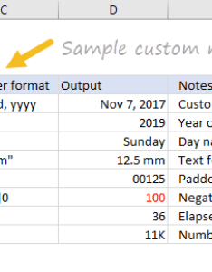 What can you do with custom number formats also excel exceljet rh