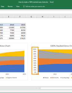 From the video how to build  stacked area chart also excel tutorial rh exceljet