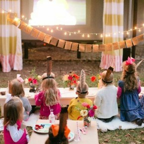 Create your own outdoor cinema