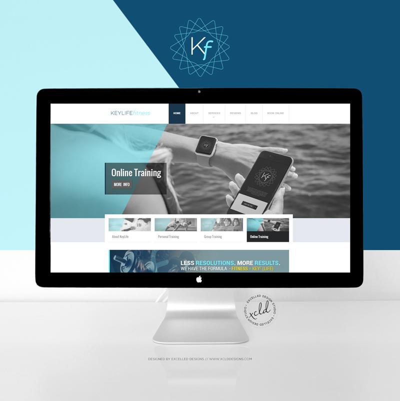 KLFmockup1 - Personal Trainer Branding