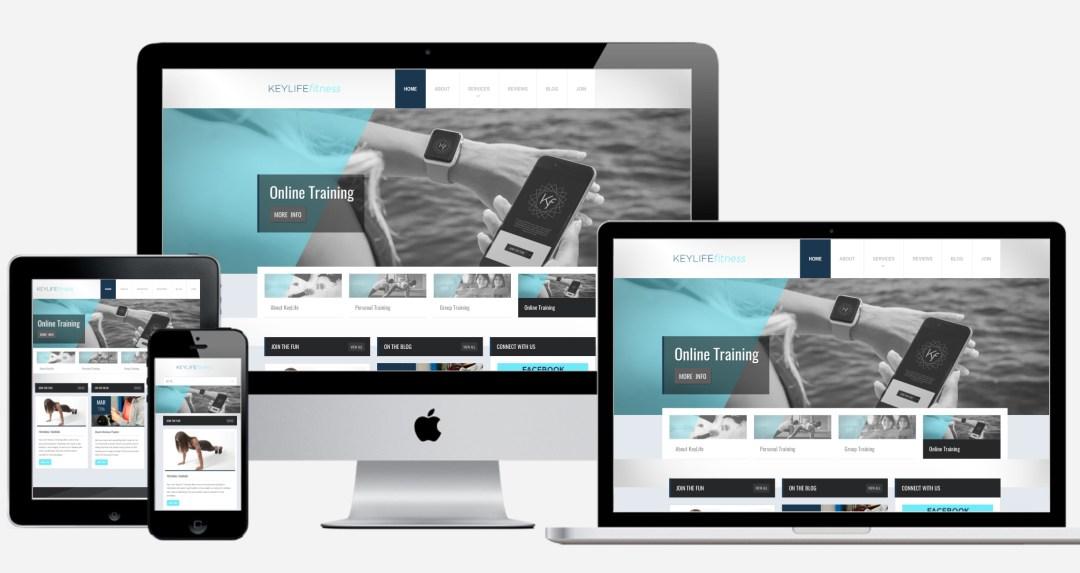 KLFwebsite - Personal Trainer Branding