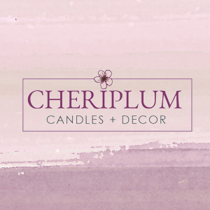 Natural Candle Logo Design - Soy Candle Boutique Branding