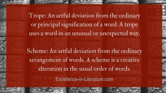 Figures Of Speech Schemes And Tropes