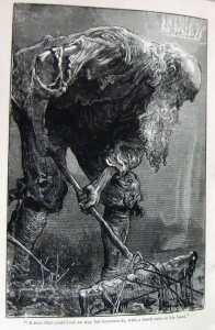 The Man with the Muck Rake — a scene from John Bunyan's Pilgrim's Progress