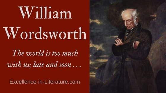 William Wordsworth biography, English poet.