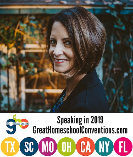 Janice Campbell will be speaking at the Great Homeschool Conventions in 2019.