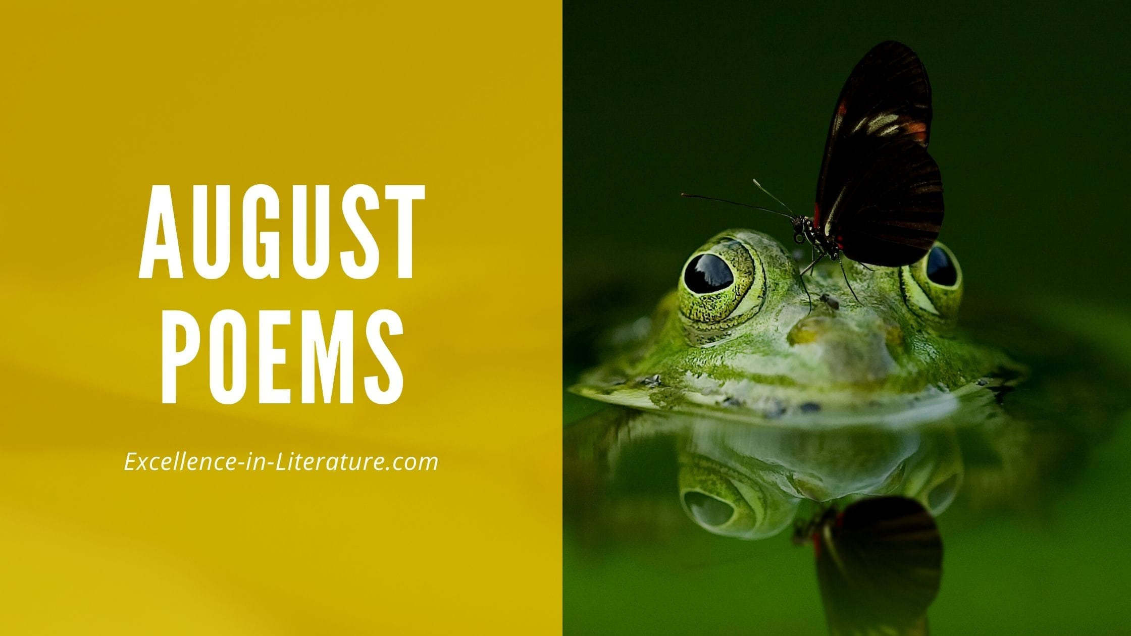 August Poems