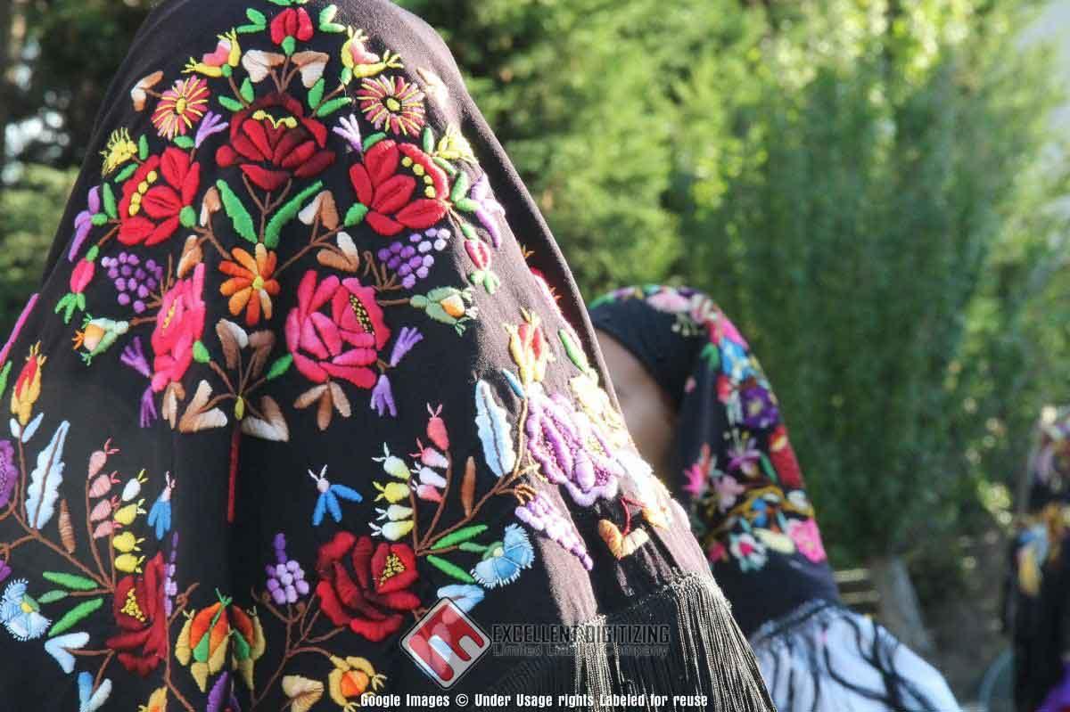 Digitizing Embroidery Preserve Memories