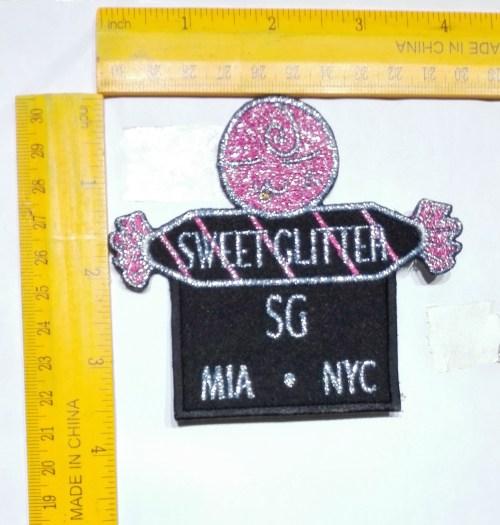 Sweet Glitter Digitized Logo
