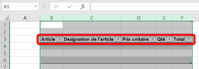 Curseur Excel : Après ajustement