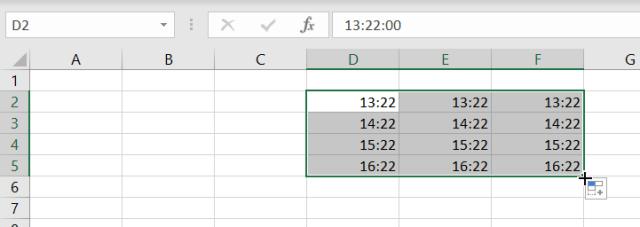 Additionner heures Excel - Cas pratique