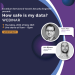 """Webinar Varonis - banner for """"Where to meet us"""" page"""