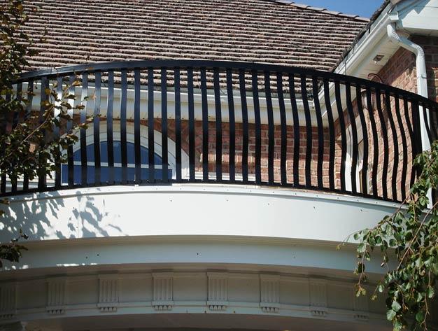 Metal Balcony Railing