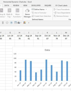 Horizontal month rolling chart also dynamic ranges excelmate rh wordpress