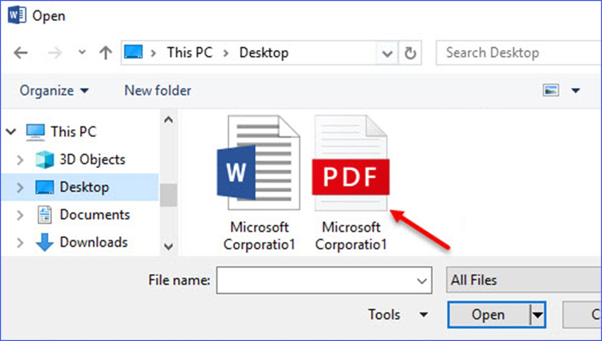 How to Use Word to Open PDF Files - ExcelNotes