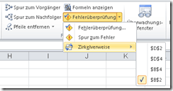 Zirkelbezug in Excel: Finden, beheben oder NUTZEN