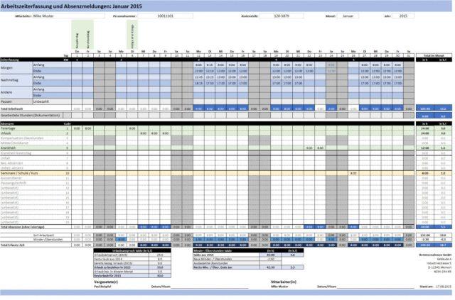 Productos de gestión del tiempo – ExcelNova