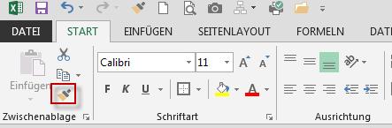 formatpinsel-excel-menu