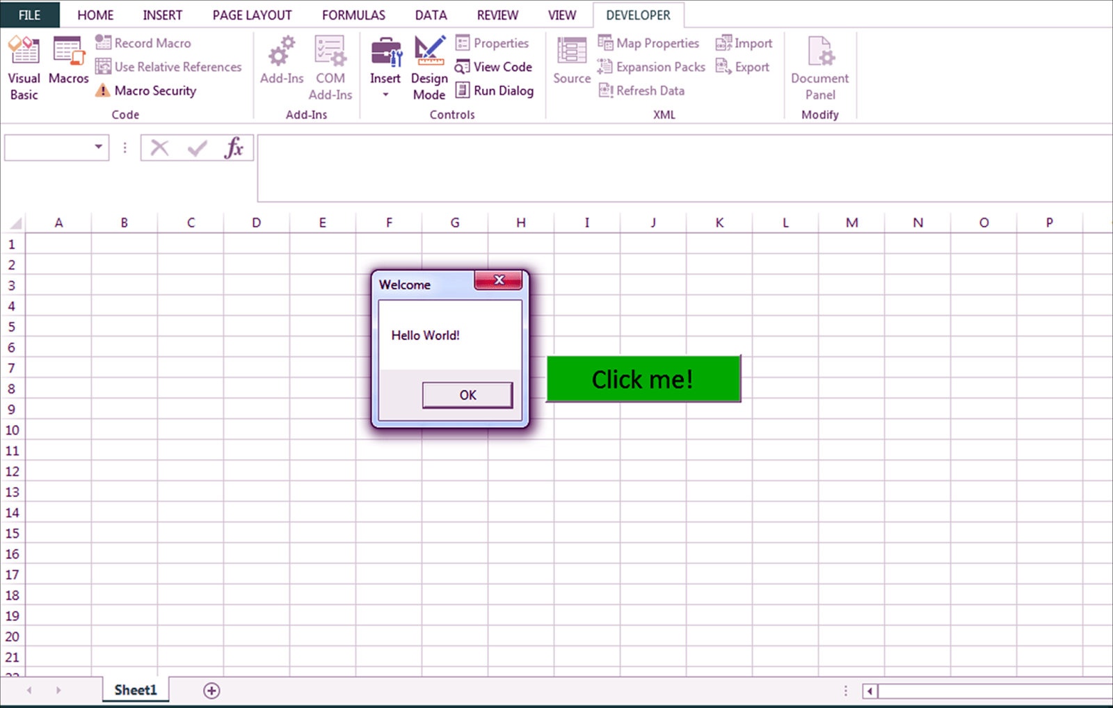 Msgbox No Vba Do Excel Como Funciona