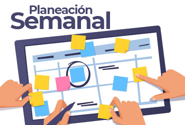 Plantilla Planeación Semanal