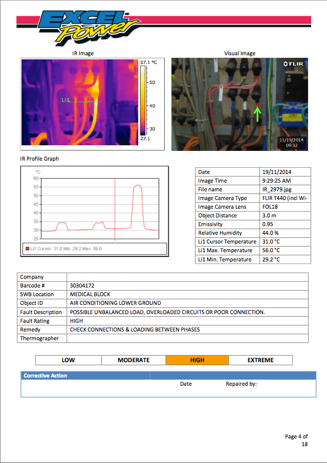 Thermal Imaging  Excel Power Pty Ltd