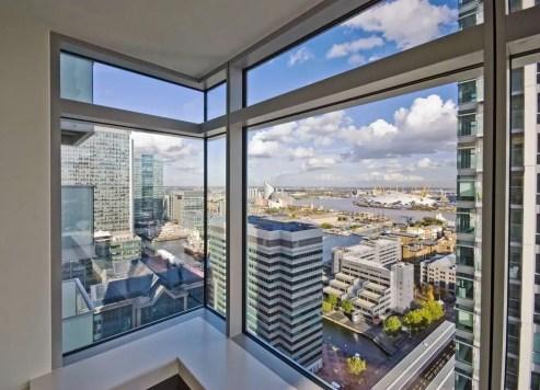 high rise window