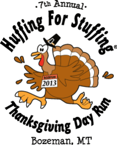 Huffing for Stuffing Pic Logo
