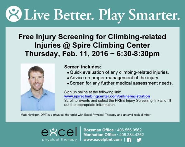 ExcelPT Facebook Post Matt Heyliger Spire Climbing Injury Prevention screens 2-2016 time corr jpeg